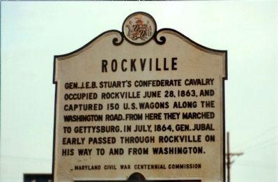 Rockville Sign same spot in 1988 as photo 3 image. Click for full size.