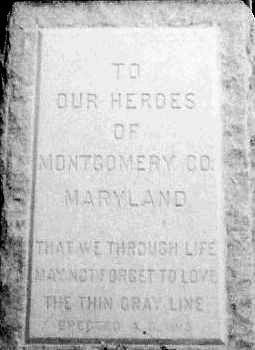 Detail of Confederate Monument image. Click for full size.