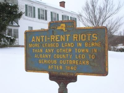 Anti-Rent Riots image. Click for full size.