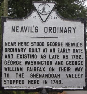 Neavil's Ordinary Marker image. Click for full size.