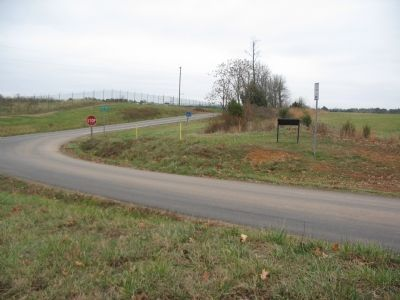 Marker at the Intersection of Beverly's Ford and St. James Curch Roads image. Click for full size.
