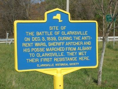 Site of The Battle of Clarksville image. Click for full size.