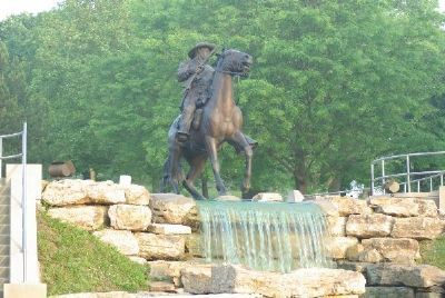 The Buffalo Soldier Monument Marker image. Click for more information.