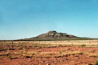 Tucumcari Mountain image. Click for full size.