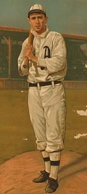 Baker with the Philadelphia Athletics image. Click for full size.