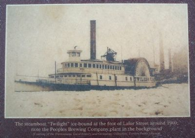 "The steamboat ""Twilight"" image. Click for full size."