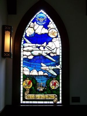 Chapel Of The Fallen Eagles Window image. Click for full size.