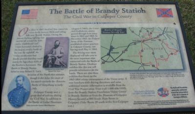 The Battle of Brandy Station Marker image. Click for full size.