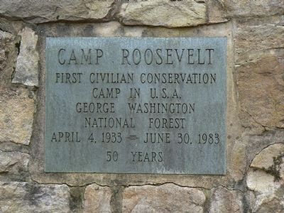 Camp Roosevelt image. Click for full size.