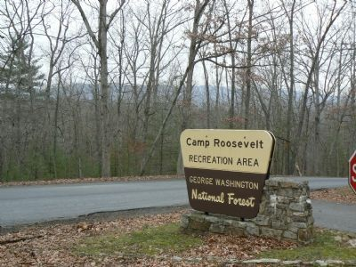 Camp Roosevelt Recreation Area Entrance image. Click for full size.