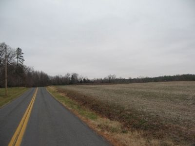 Looking North toward Crittenden Gate image. Click for full size.