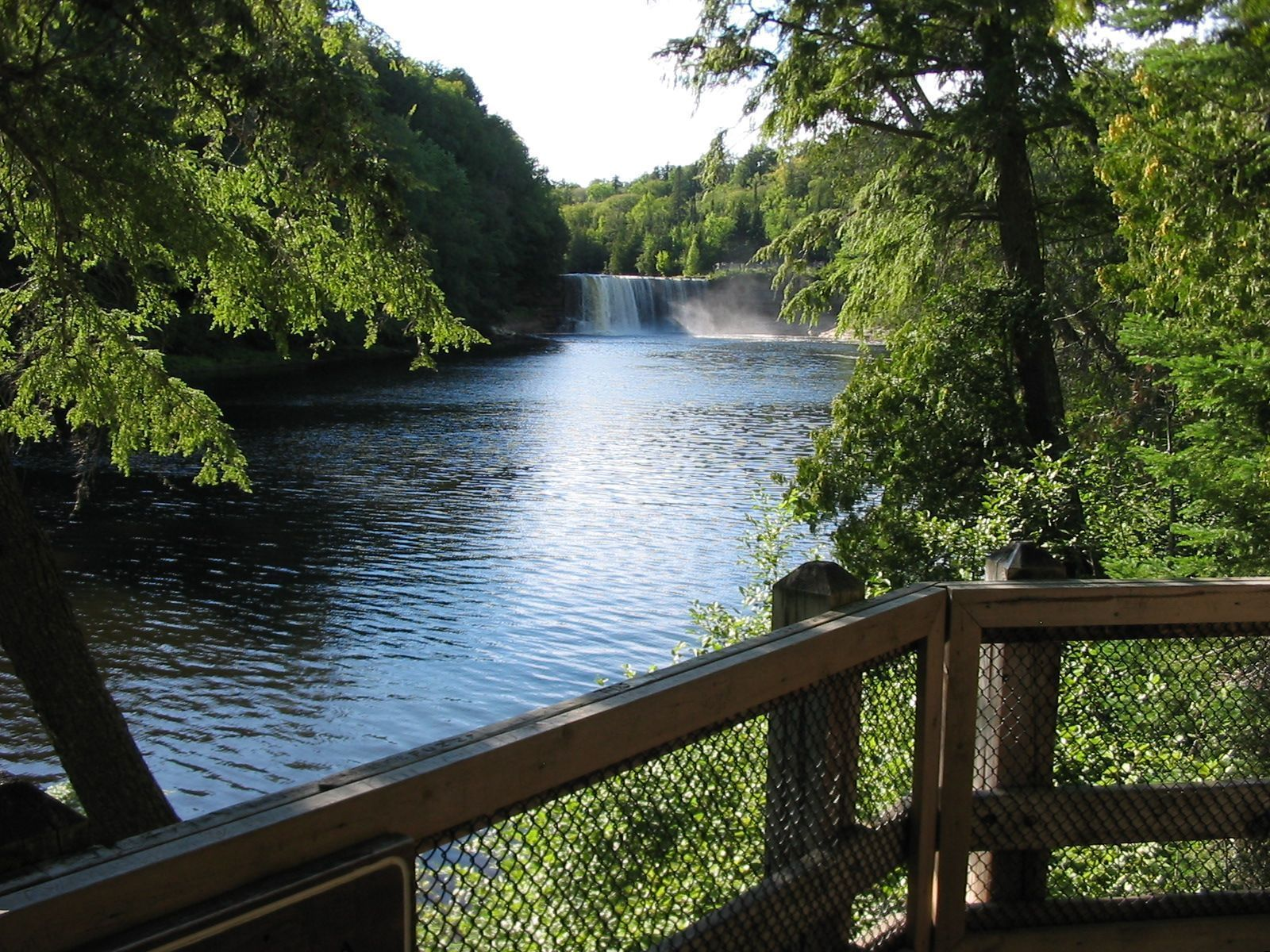Tahquamenon River and Upper Falls