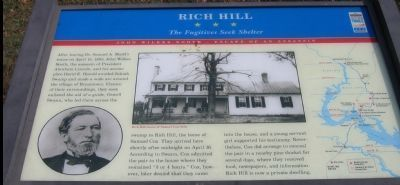 Rich Hill sign image. Click for full size.