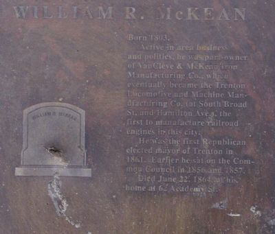 William R. McKean Marker image. Click for full size.