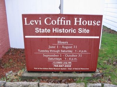 Levi Coffin House image. Click for full size.
