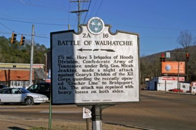 Battle of Wauhatchie Marker image. Click for full size.