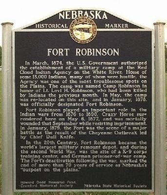 Fort Robinson image. Click for full size.