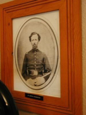Lieutenant Levi Robinson, for whom the fort was named image. Click for full size.