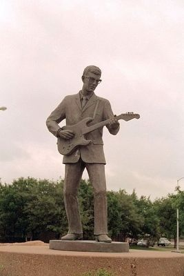 Lubbock's Own Buddy Holly image. Click for full size.