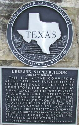 Lesesne-Stone Building (The KGTN Building) Marker image. Click for full size.