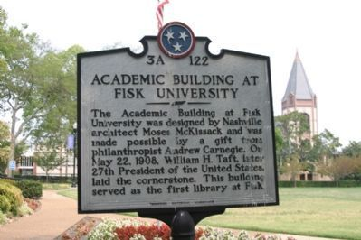 Academic Building At Fisk University Marker image, Touch for more information