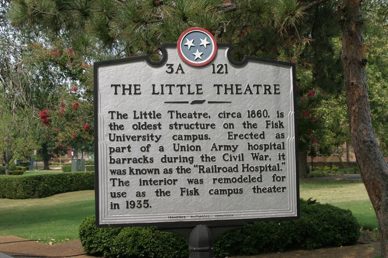 The Little Theatre Marker.