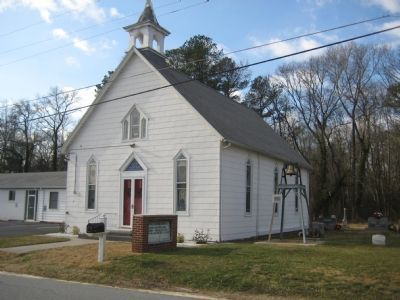 Woodland United Methodist Church image. Click for full size.