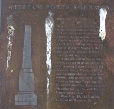 William Potts Sherman Marker image. Click for full size.