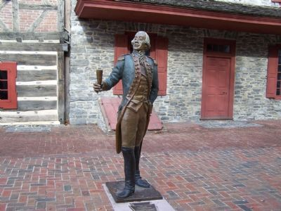 Statue of Lafayette image. Click for full size.