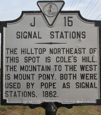 Signal Stations Marker image. Click for full size.