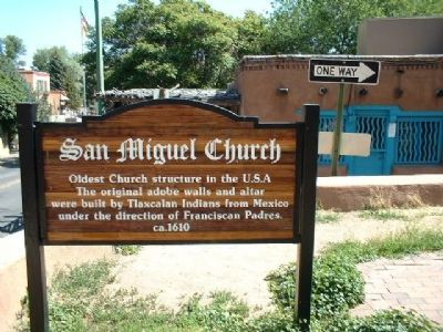 San Miguel Church Marker image. Click for full size.