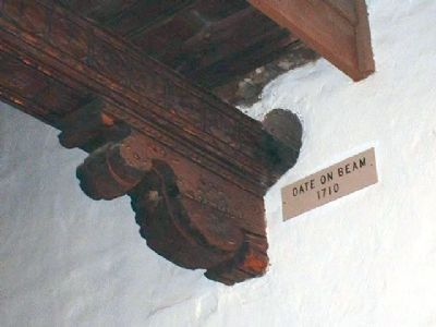 Beam Dated 1710 image. Click for full size.