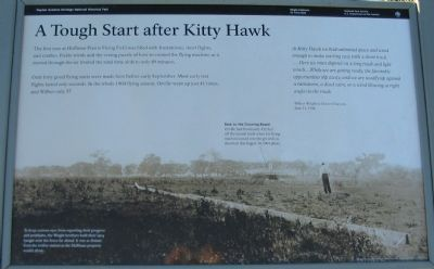 A Tough Start after Kitty Hawk image. Click for full size.
