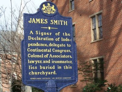 James Smith Marker image. Click for full size.