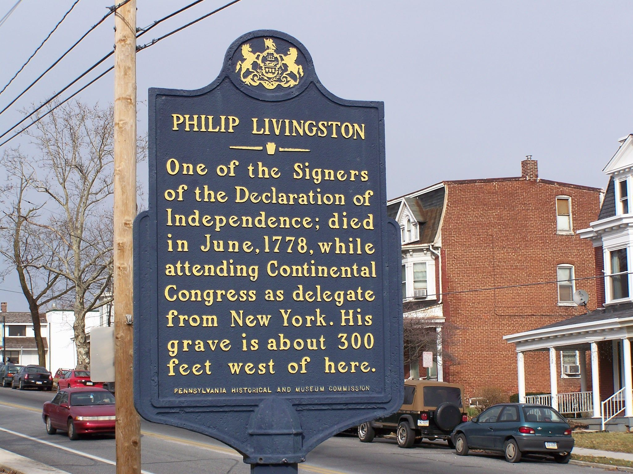 Philip Livingston Marker