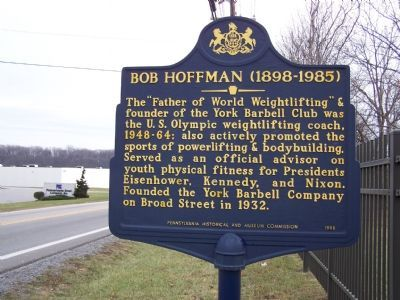 Bob Hoffman (1898 - 1985) Marker image. Click for full size.