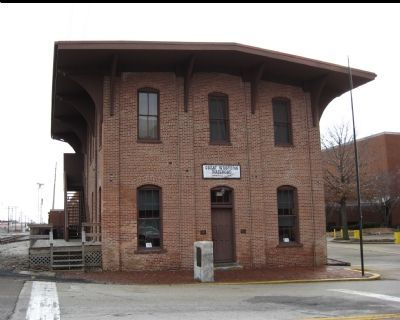 Front of the Lincoln Depot image. Click for full size.