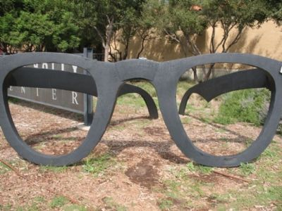 Buddy Holly Glasses image. Click for full size.