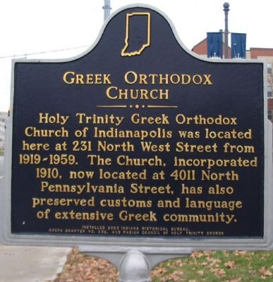Greek Orthodox Church Marker image. Click for full size.