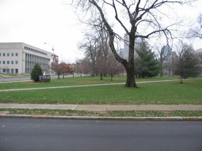 Northwest Corner of Military Park image. Click for full size.