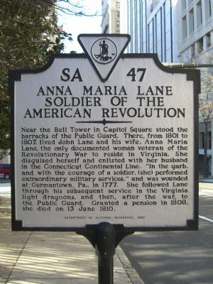 Anna Maria Lane Marker image. Click for full size.