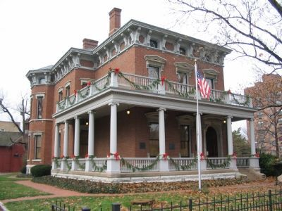 The Benjamin Harrison House image. Click for full size.