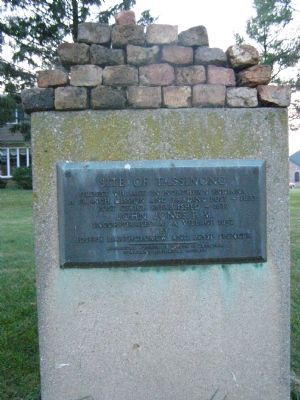 Site of Tassinong Marker image. Click for full size.
