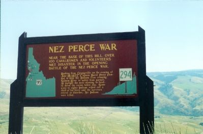 Nez Perce War Marker image. Click for full size.
