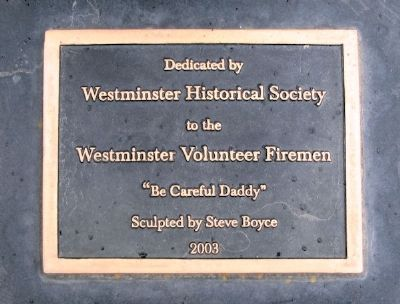 WFD Volunteers 1934 - 2000 Dedication Marker image. Click for full size.