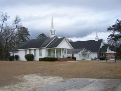 Coosawhatchie Baptist Church, Today image. Click for full size.