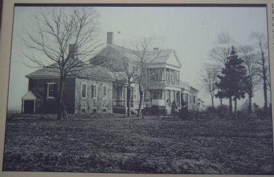 "Period picture of Chatham on the A ""Picture of Desolation"" Marker image. Click for full size."