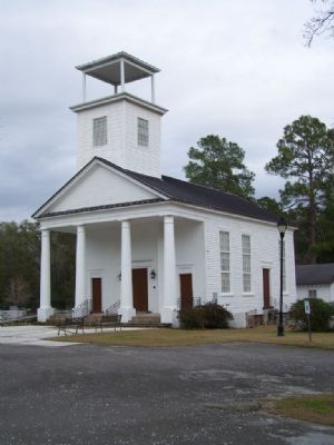 Gillisonville Baptist Church, today image. Click for full size.
