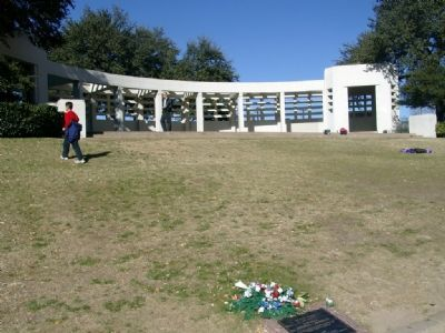 The Grassy Knoll from the marker. image. Click for full size.