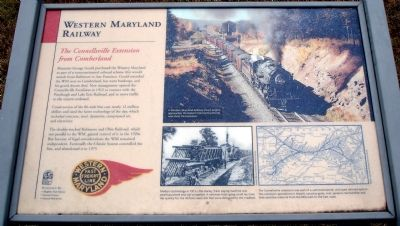 Western Maryland Railway Marker image. Click for full size.